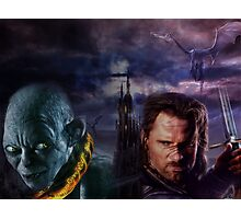 Gothic Lord of the Rings Photographic Print