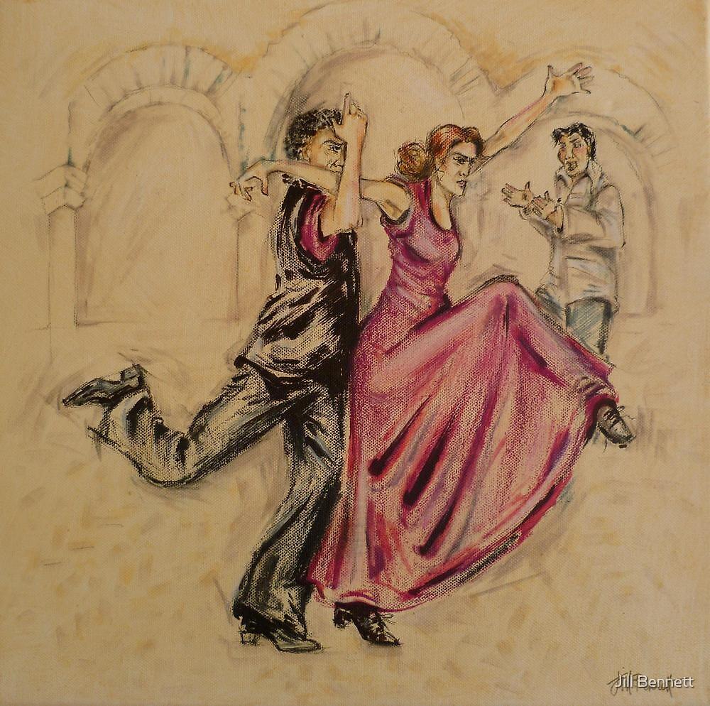 Flamenco Fusion  by Jill Bennett