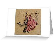 Flamenco Fusion  Greeting Card
