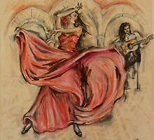 Flamenco Rapido by Jill Bennett
