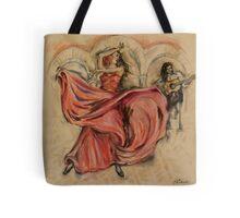 Flamenco Rapido Tote Bag