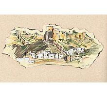 Almería Castle or Alcazaba de Almería Photographic Print