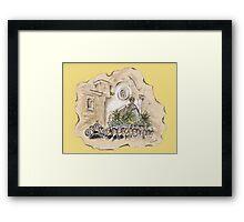 The Virgin of the Sea of Almería or la Virgen del Mar de Almería Framed Print