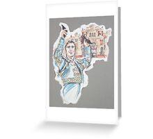 The Triumph or El Triunfo Greeting Card