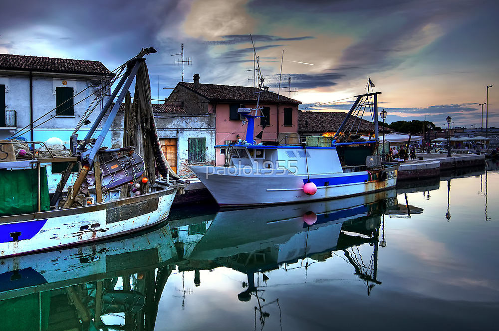 Cesenatico Fishing Harbour  by paolo1955