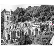 St Nicholas' Church, High Bradfield Poster
