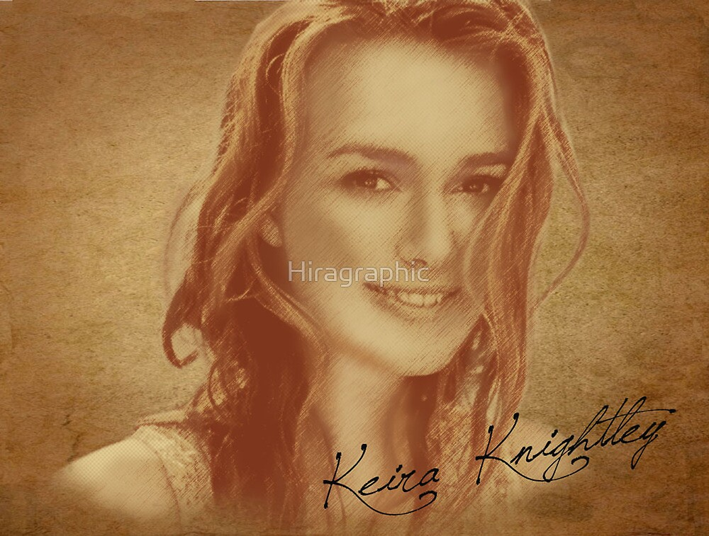 Keira Knightley by Hiragraphic