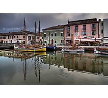 Cesenatico Harbour Photographic Print