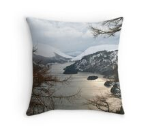 Thirlemere Winter View Throw Pillow