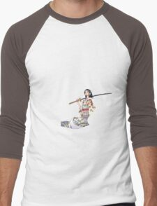 Nico Robin Men's Baseball ¾ T-Shirt