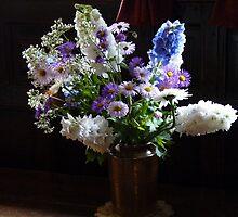Cottage Garden Flowers by artfulvistas
