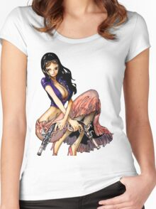 Nico Robin Women's Fitted Scoop T-Shirt