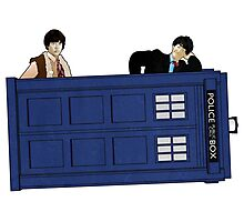 The Second Doctor and Jamie Photographic Print