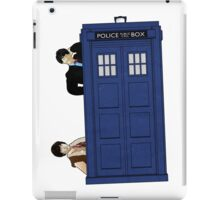 The Second Doctor and Jamie iPad Case/Skin