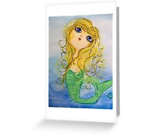 Mermaid Lexy Greeting Card