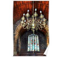 St Leonard Church Interior - Downham Poster