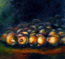 Simple Abundance...Onions by ©Janis Zroback