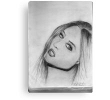 Another pretty face Canvas Print