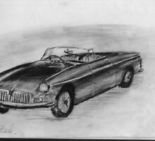 1963 MGB - Classic Car by BigBlue222