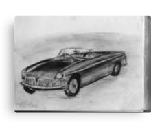 1963 MGB - Classic Car Canvas Print