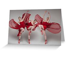 Sur Les Pointes II Greeting Card