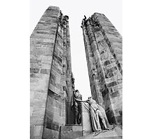 The Canadian National Vimy Memorial  Photographic Print