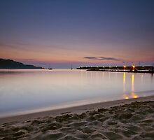 Luci del porto all'alba by Andrea Rapisarda