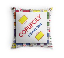 Vietnamese Monopoly Game Throw Pillow