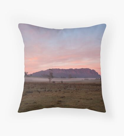 Over the Back Fence Throw Pillow