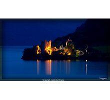 urquart castle Photographic Print