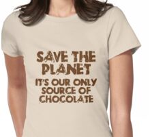 414 Save the Planet Womens Fitted T-Shirt