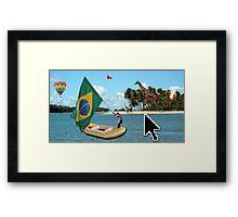 Brazilian Adventure Framed Print
