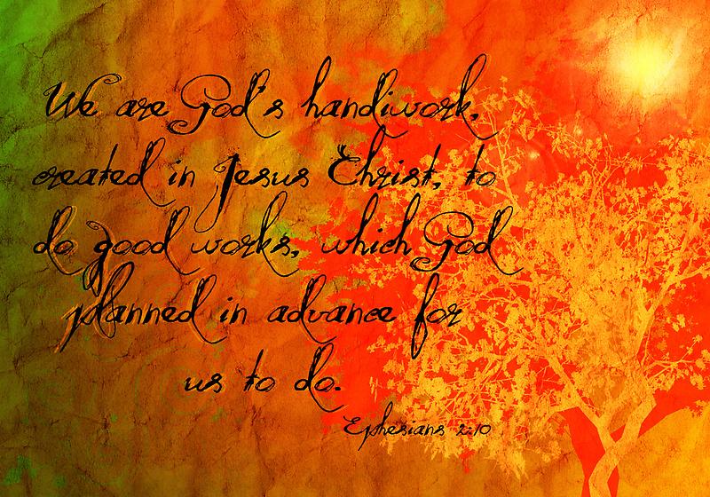 Ephesians 2:10 by Faith Miriam