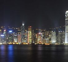 Hong Kong Island by Dean Bailey