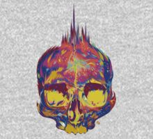 Rainbow Skull 3 by James Fosdike