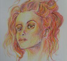 Helena Bonham Carter  by Chantel Smith