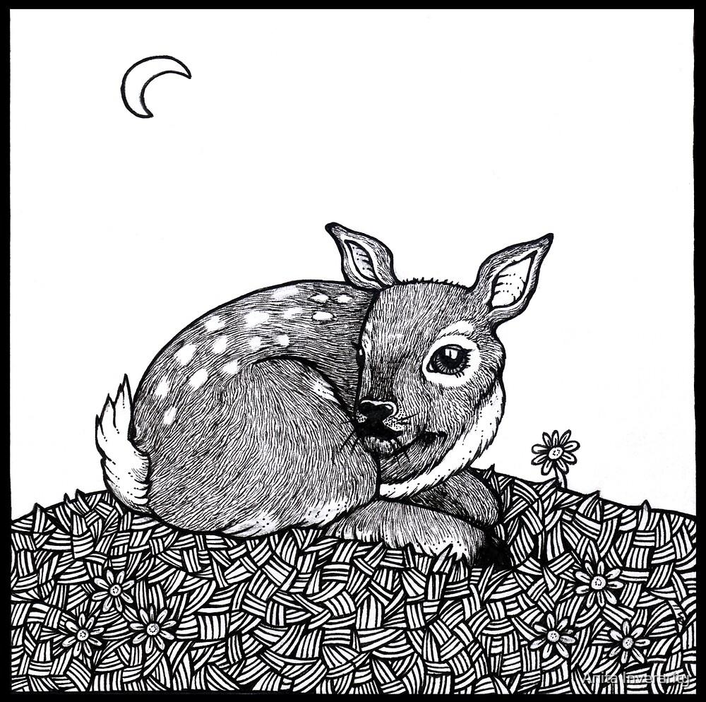 Bambi Tail by Anita Inverarity