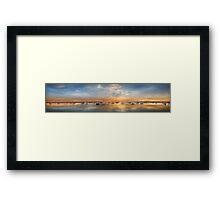 Corio Bay Evening Framed Print