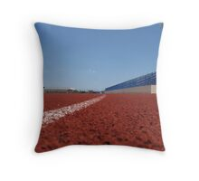 Entering the Final Stretch Throw Pillow