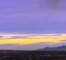 Panorama of Salt Lake County from South Valley by Ryan Houston