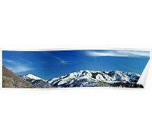 Mountains From South Fork Canyon, Utah Poster