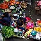 Ubud Market, Bali by Chris Westinghouse