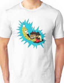 American Zombanana Split  Unisex T-Shirt