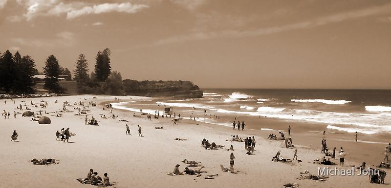 My Beach of Yesteryear by Michael John