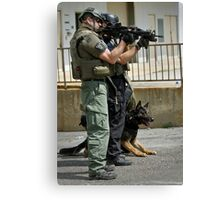 K9 At It's Best Canvas Print