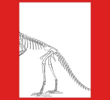 Cool Compsognathus Baby Tee