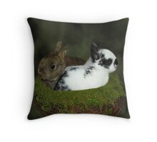DWARF RABBITS DECORATIVE PILLOW AND OR TOTE BAG Throw Pillow