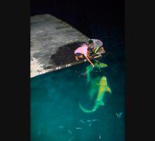 Shark feeding in the Maldives - Black tip reef shark Unisex T-Shirt