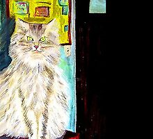 My Vet's Cat by hickerson