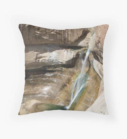 Lower Calf Creek Falls Throw Pillow